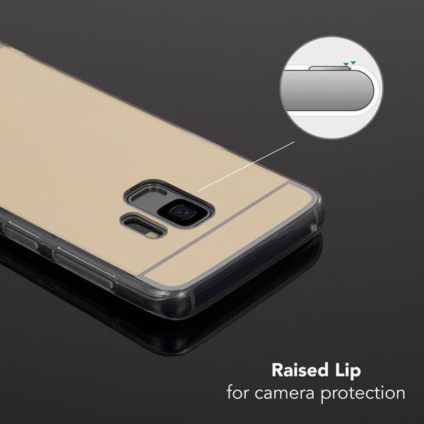 NALIA Spiegel Handyhülle kompatibel mit Samsung Galaxy S9, Ultra-Slim Mirror Case TPU Silikon-Hülle, Dünne Schutzhülle Back-Cover verspiegelt, Handy-Tasche Bumper Phone Etui – Bild 13