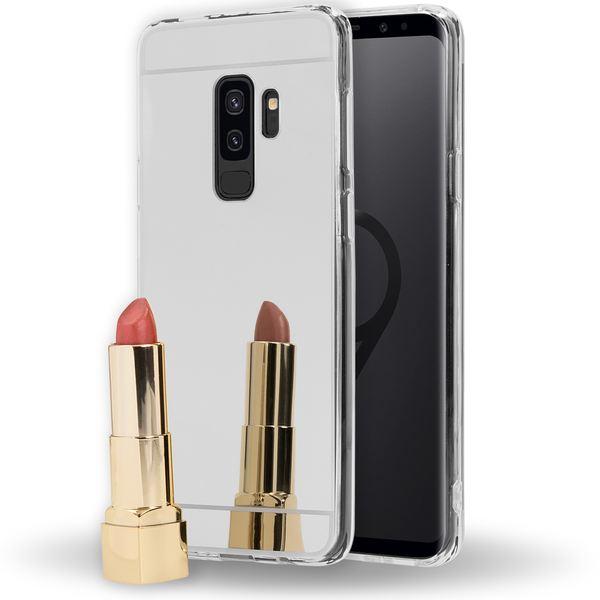 NALIA Spiegel Handyhülle kompatibel mit Samsung Galaxy S9 Plus, Ultra-Slim Mirror Case TPU Silikon, Dünne Schutzhülle Back-Cover verspiegelt, Handy-Tasche Bumper Phone Etui – Bild 7