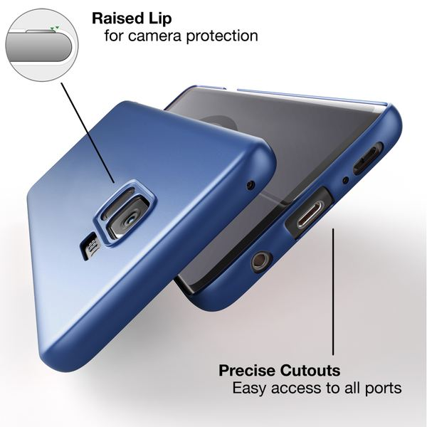 NALIA Handyhülle kompatibel mit Samsung Galaxy S9, Dünnes Hard-Case Schutzhülle Matt, Ultra-Slim Cover Etui Handy-Tasche, Ultra-Slim Smart-Phone Backcover Skin Bumper – Bild 9