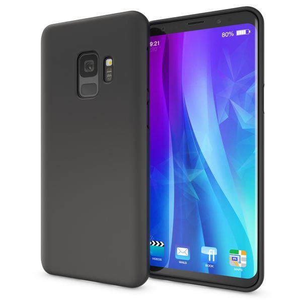 NALIA Handyhülle kompatibel mit Samsung Galaxy S9, Ultra-Slim TPU Silikon Neon Case, Dünnes Cover Gummi Schutzhülle Skin, Etui Handy-Tasche Backcover Smartphone Bumper – Bild 2