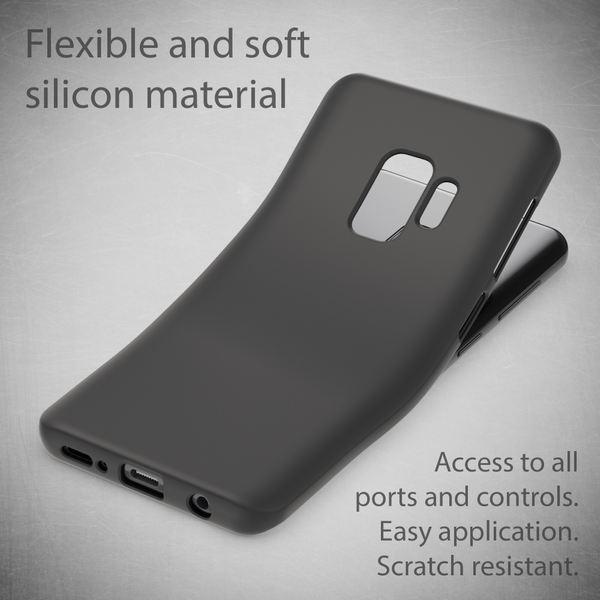 NALIA Handyhülle kompatibel mit Samsung Galaxy S9, Ultra-Slim TPU Silikon Neon Case, Dünnes Cover Gummi Schutzhülle Skin, Etui Handy-Tasche Backcover Smartphone Bumper – Bild 18