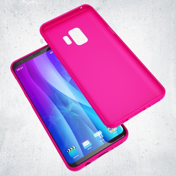 NALIA Handyhülle kompatibel mit Samsung Galaxy S9, Ultra-Slim TPU Silikon Neon Case, Dünnes Cover Gummi Schutzhülle Skin, Etui Handy-Tasche Backcover Smartphone Bumper – Bild 21