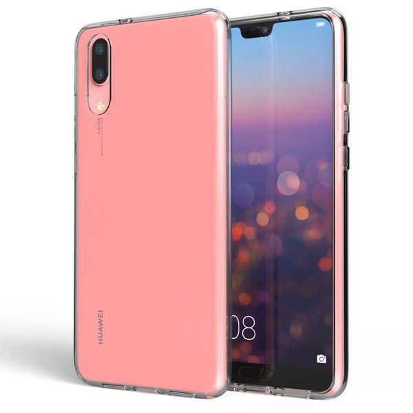 NALIA Handyhülle für Huawei P20, Soft Slim TPU Silikon Case Cover Crystal Clear Schutzhülle Dünn Durchsichtig, Etui Handy-Tasche Backcover Transparent, Smart-Phone Schutz Bumper für P-20 – Bild 5