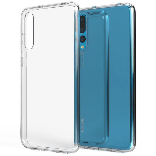 NALIA Handyhülle kompatibel mit Huawei P20 Pro, Soft Slim TPU Silikon Case Cover Crystal Clear Schutzhülle Dünn Durchsichtig, Etui Handy-Tasche Backcover Transparent, Smart-Phone Schutz Bumper – Bild 1