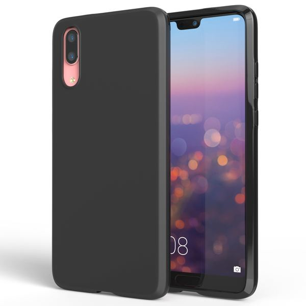 NALIA Handyhülle für Huawei P20, Ultra-Slim Silikon Case, Dünne Silikon Crystal Schutzhülle, Back-Case Etui Handy-Tasche Back-Cover Bumper, softe TPU Smart-Phone Gummihülle für das P-20 – Bild 1