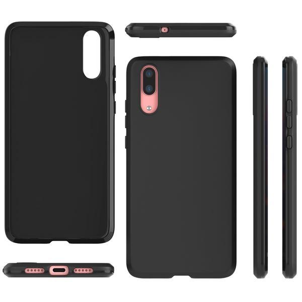 NALIA Handyhülle für Huawei P20, Ultra-Slim Silikon Case, Dünne Silikon Crystal Schutzhülle, Back-Case Etui Handy-Tasche Back-Cover Bumper, softe TPU Smart-Phone Gummihülle für das P-20 – Bild 7
