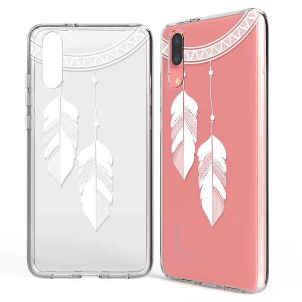 NALIA Handyhülle für Huawei P20, Slim Silikon Motiv Case Crystal Schutzhülle Dünn Durchsichtig, Etui Handy-Tasche Back-Cover Transparent Bumper für P-20 – Bild 16