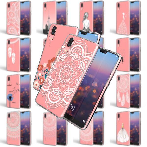 NALIA Handyhülle für Huawei P20, Slim Silikon Motiv Case Crystal Schutzhülle Dünn Durchsichtig, Etui Handy-Tasche Back-Cover Transparent Bumper für P-20 – Bild 1