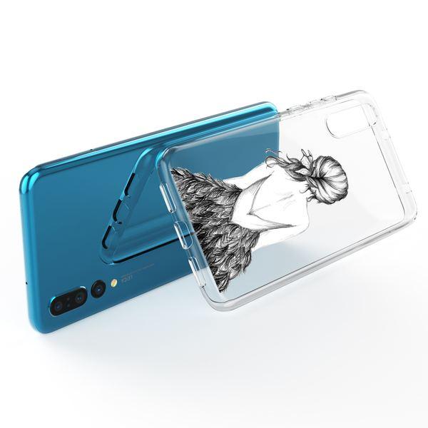 NALIA Handyhülle kompatibel mit Huawei P20 Pro, Slim Silikon Motiv Case Crystal Schutzhülle Dünn Durchsichtig, Etui Handy-Tasche Back-Cover Transparent Bumper – Bild 11