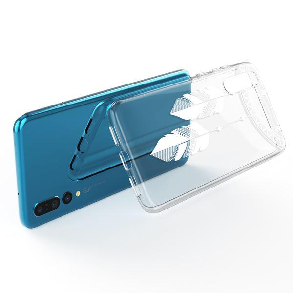 NALIA Handyhülle kompatibel mit Huawei P20 Pro, Slim Silikon Motiv Case Crystal Schutzhülle Dünn Durchsichtig, Etui Handy-Tasche Back-Cover Transparent Bumper – Bild 19