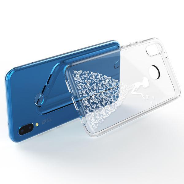 NALIA Handyhülle kompatibel mit Huawei P20 Lite, Slim Silikon Motiv Case Back-Cover Crystal Schutzhülle Dünn Durchsichtig, Etui Handy-Tasche Transparent Bumper – Bild 12