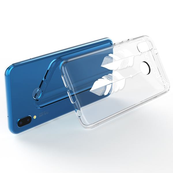 NALIA Handyhülle kompatibel mit Huawei P20 Lite, Slim Silikon Motiv Case Back-Cover Crystal Schutzhülle Dünn Durchsichtig, Etui Handy-Tasche Transparent Bumper – Bild 15