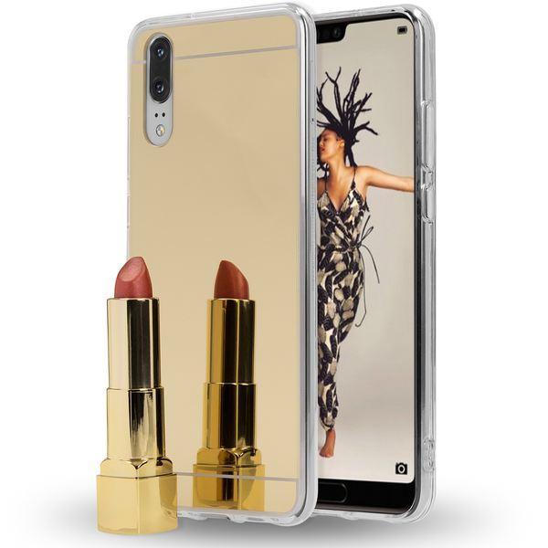 NALIA Spiegel Handyhülle für Huawei P20, Ultra-Slim Mirror Case Cover TPU Silikon-Hülle, Dünne Schutzhülle Backcover verspiegelt, Handy-Tasche Bumper Phone Etui für Huawei P-20 – Bild 14