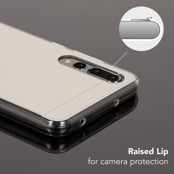 NALIA Spiegel Handyhülle kompatibel mit Huawei P20 Pro, Ultra-Slim Mirror Case Cover TPU Silikon-Hülle, Dünne Schutzhülle Backcover verspiegelt, Handy-Tasche Bumper Phone – Bild 3