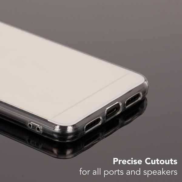 NALIA Spiegel Handyhülle kompatibel mit Huawei P20 Pro, Ultra-Slim Mirror Case Cover TPU Silikon-Hülle, Dünne Schutzhülle Backcover verspiegelt, Handy-Tasche Bumper Phone – Bild 5