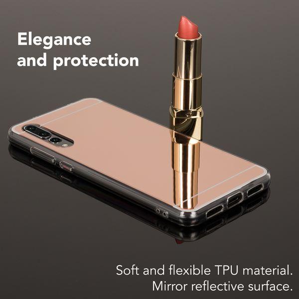 NALIA Spiegel Handyhülle kompatibel mit Huawei P20 Pro, Ultra-Slim Mirror Case Cover TPU Silikon-Hülle, Dünne Schutzhülle Backcover verspiegelt, Handy-Tasche Bumper Phone – Bild 19