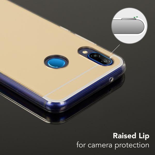 NALIA Spiegel Handyhülle kompatibel mit Huawei P20 Lite, Ultra-Slim Mirror Case Cover TPU Silikon-Hülle, Dünne Schutzhülle Backcover verspiegelt, Handy-Tasche Bumper Phone Etui – Bild 9