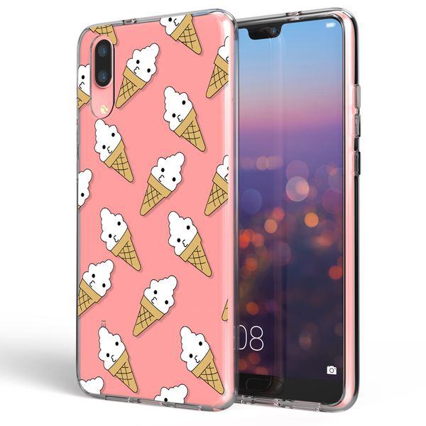 NALIA Handyhülle für Huawei P20, Slim Silikon Motiv Case Cover Crystal Schutzhülle Dünn Durchsichtig, Etui Handy-Tasche Backcover Transparent Bumper für P20 – Bild 11