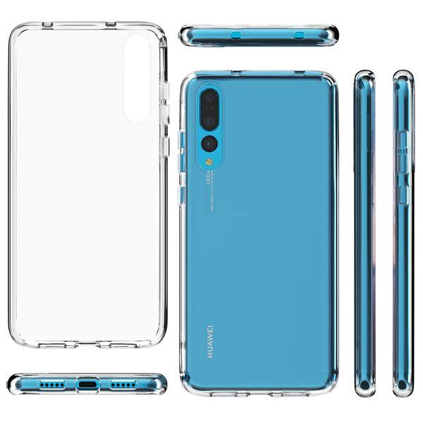 NALIA Handyhülle kompatibel mit Huawei P20 Pro, Slim Silikon Motiv Case Cover Crystal Schutzhülle Dünn Durchsichtig, Etui Handy-Tasche Backcover Transparent Bumper – Bild 8