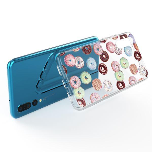 NALIA Handyhülle kompatibel mit Huawei P20 Pro, Slim Silikon Motiv Case Cover Crystal Schutzhülle Dünn Durchsichtig, Etui Handy-Tasche Backcover Transparent Bumper – Bild 10