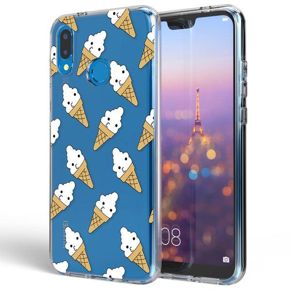 NALIA Handyhülle kompatibel mit Huawei P20 Lite, Slim Silikon Motiv Case Cover Crystal Schutzhülle Dünn Durchsichtig, Etui Handy-Tasche Backcover Transparent Bumper – Bild 23