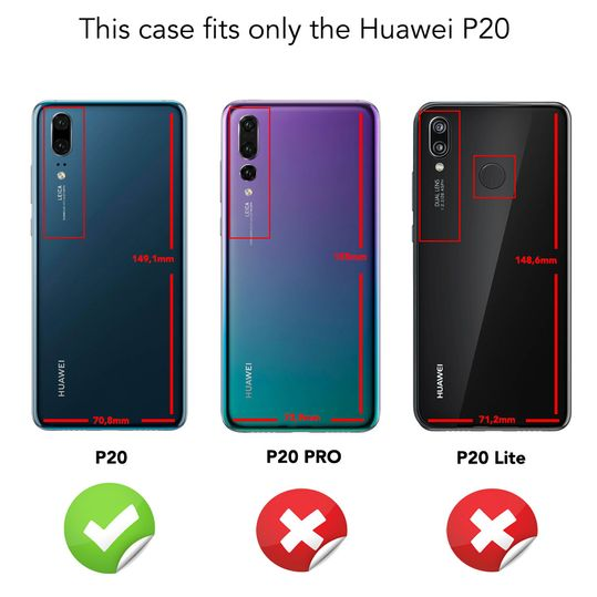 Huawei P20 Hülle Handyhülle von NALIA, Dünnes Hard-Case Schutzhülle Matt Glänzend, Ultra-Slim Cover Etui leichte Handy-Tasche, Ultra-Slim Smart-Phone Backcover Skin Bumper für P-20 – Bild 12