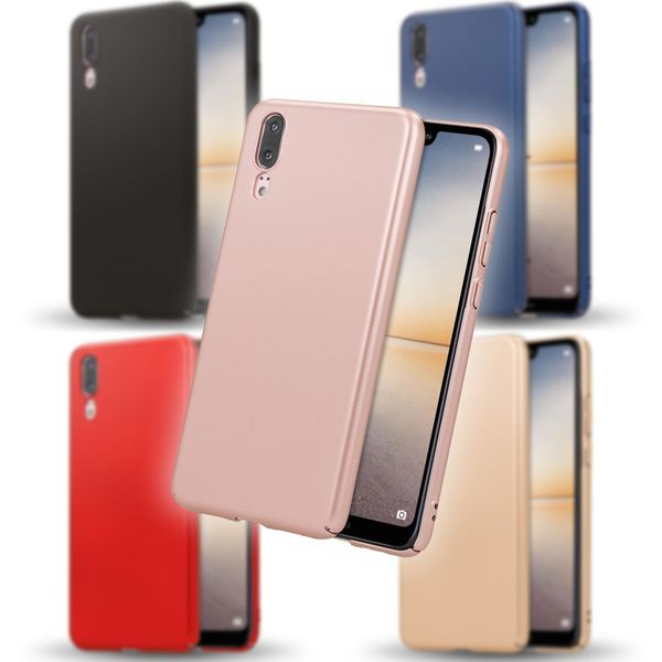 NALIA Handyhülle kompatibel mit Huawei P20, Dünnes Hard-Case Schutzhülle Matt Glänzend, Ultra-Slim Cover Etui leichte Handy-Tasche, Ultra-Slim Smart-Phone Backcover Skin Bumper – Bild 1