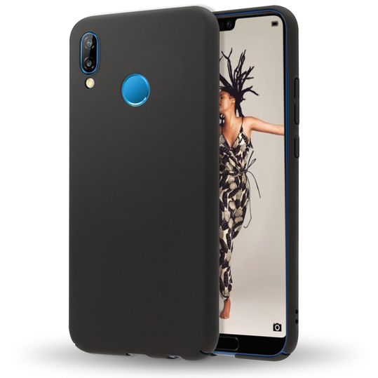 Huawei P20 Lite Hülle Handyhülle von NALIA, Dünnes Hard-Case Schutzhülle Matt, Ultra-Slim Cover Etui leichte Handy-Tasche, Ultra-Slim Smart-Phone Backcover Skin Bumper für P20Lite – Bild 2