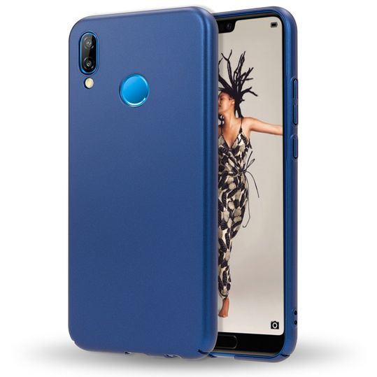 Huawei P20 Lite Hülle Handyhülle von NALIA, Dünnes Hard-Case Schutzhülle Matt, Ultra-Slim Cover Etui leichte Handy-Tasche, Ultra-Slim Smart-Phone Backcover Skin Bumper für P20Lite – Bild 9
