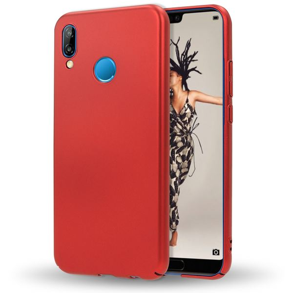 NALIA Handyhülle kompatibel mit Huawei P20 Lite, Dünnes Hard-Case Schutzhülle Matt, Ultra-Slim Cover Etui leichte Handy-Tasche, Ultra-Slim Smart-Phone Backcover Skin Bumper – Bild 16