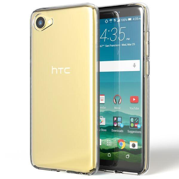 NALIA Handyhülle kompatibel mit HTC Desire 12, Soft Slim TPU Silikon Case Cover Crystal Clear Schutzhülle Dünn Durchsichtig, Etui Handy-Tasche Backcover Transparent, Smart-Phone Schutz Bumper – Bild 7