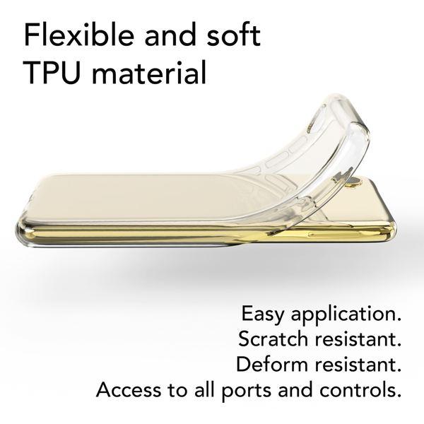 NALIA Handyhülle kompatibel mit HTC Desire 12, Soft Slim TPU Silikon Case Cover Crystal Clear Schutzhülle Dünn Durchsichtig, Etui Handy-Tasche Backcover Transparent, Smart-Phone Schutz Bumper – Bild 3