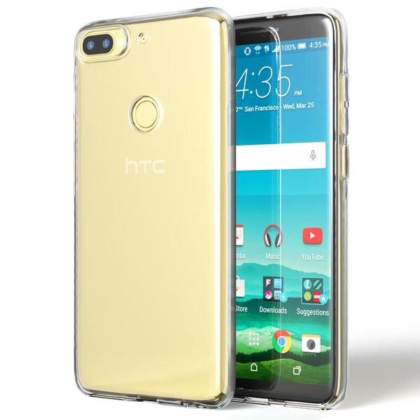 HTC Desire 12 Plus Hülle Handyhülle von NALIA, Soft Slim TPU Silikon Case Cover Crystal Clear Schutzhülle Dünn Durchsichtig, Etui Handy-Tasche Backcover Transparent, Schutz Bumper für Desire 12+ – Bild 7
