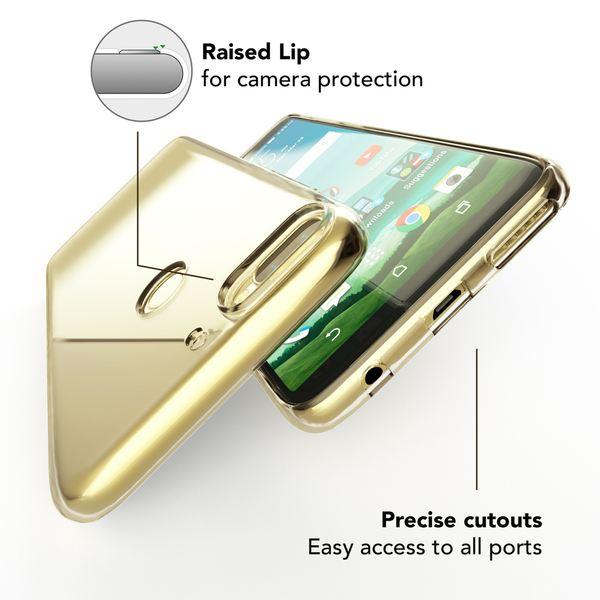HTC Desire 12 Plus Hülle Handyhülle von NALIA, Soft Slim TPU Silikon Case Cover Crystal Clear Schutzhülle Dünn Durchsichtig, Etui Handy-Tasche Backcover Transparent, Schutz Bumper für Desire 12+ – Bild 2