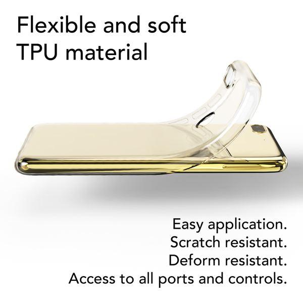 NALIA Handyhülle kompatibel mit HTC Desire 12 Plus, Soft Slim TPU Silikon Case Cover Crystal Clear Schutzhülle Dünn Durchsichtig, Etui Handy-Tasche Backcover Transparent, Schutz Bumper – Bild 3