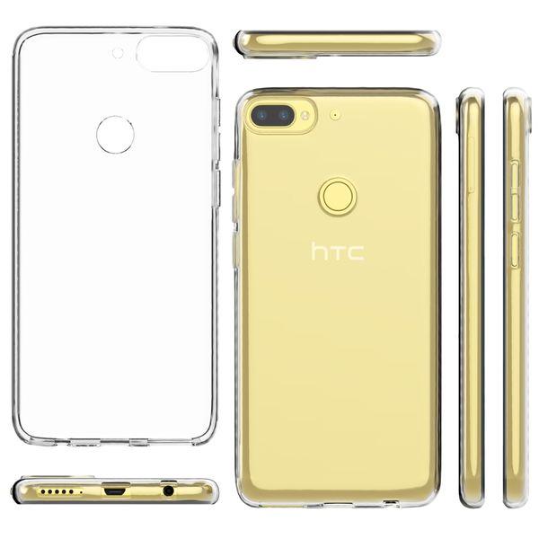 HTC Desire 12 Plus Hülle Handyhülle von NALIA, Soft Slim TPU Silikon Case Cover Crystal Clear Schutzhülle Dünn Durchsichtig, Etui Handy-Tasche Backcover Transparent, Schutz Bumper für Desire 12+ – Bild 5