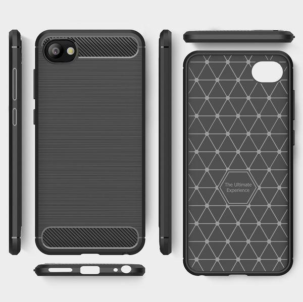 NALIA Handyhülle kompatibel mit HTC Desire 12, Ultra Slim Silikon Case Cover, Dünne Crystal Phone Schutzhülle, Etui Handy-Tasche Back-Cover Bumper, TPU Gummihülle Smartphone - Schwarz – Bild 6
