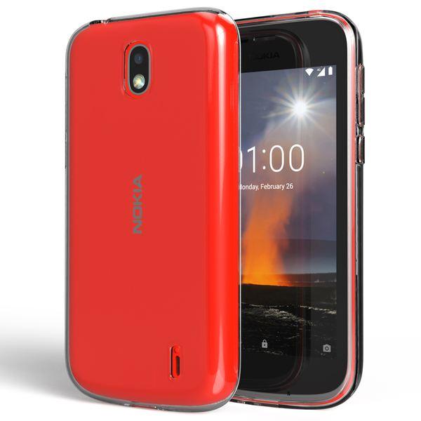 NALIA Handyhülle kompatibel mit Nokia 1, Soft Slim TPU Silikon Case Cover Crystal Clear Schutzhülle Dünn Durchsichtig, Etui Handy-Tasche Backcover Transparent, Smart-Phone Schutz Bumper – Bild 7