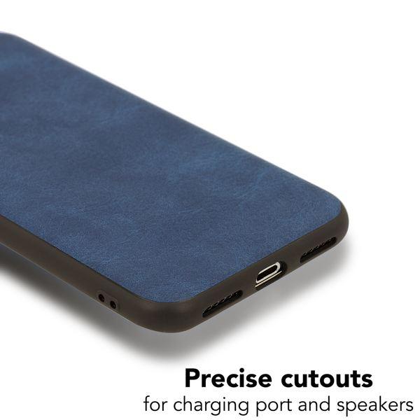 NALIA Kunstleder Hülle kompatibel mit iPhone X / XS, stoßfeste Schutzhülle Case, Dünne Handyhülle Handy-Tasche, Slim Soft-Cover Backcover Phone Etui Smartphone Bumper – Bild 4