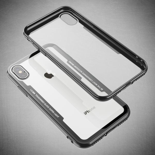 NALIA Hülle kompatibel mit iPhone X / XS, Ultra-Slim Handyhülle Cover Case Etui Phone Handy-Tasche, Backcover Transparent Schutzhülle Hardcase Klar Dünn Skin Smartphone Bumper – Bild 6