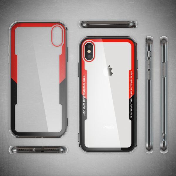 NALIA Hülle kompatibel mit iPhone X / XS, Ultra-Slim Handyhülle Cover Case Etui Phone Handy-Tasche, Backcover Transparent Schutzhülle Hardcase Klar Dünn Skin Smartphone Bumper – Bild 14