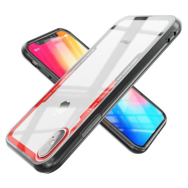 NALIA Hülle kompatibel mit iPhone X XS, Ultra-Slim Handyhülle Cover Case Etui Phone Handy-Tasche, Backcover Transparent Schutzhülle Hardcase Klar Dünn Skin Smartphone Bumper – Bild 9