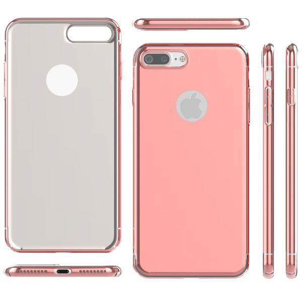 NALIA Spiegel Handyhülle kompatibel mit iPhone 7 Plus, Ultra-Slim Cover Mirror Case Hardcase, Dünne Schutzhülle Backcover verspiegelt, Handy-Tasche Bumper Phone Etui – Bild 6