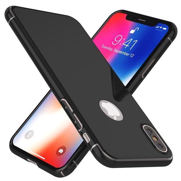 NALIA Spiegel Hülle für iPhone X XS, Handyhülle Dünne Schutz-Hülle mit reflektierendem Back-Cover, Ultra-Slim Bumper Hard-Case Phone Etui Handy-Tasche für Apple i-Phone XS X – Bild 2