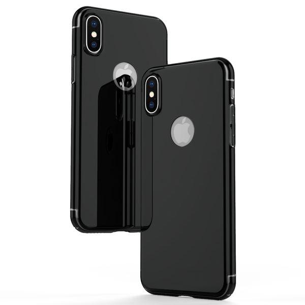 NALIA Spiegel Hülle für iPhone X XS, Handyhülle Dünne Schutz-Hülle mit reflektierendem Back-Cover, Ultra-Slim Bumper Hard-Case Phone Etui Handy-Tasche für Apple i-Phone XS X – Bild 4