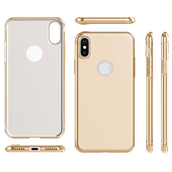 NALIA Spiegel Hülle für iPhone X XS, Handyhülle Dünne Schutz-Hülle mit reflektierendem Back-Cover, Ultra-Slim Bumper Hard-Case Phone Etui Handy-Tasche für Apple i-Phone XS X – Bild 8