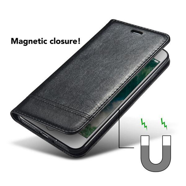 NALIA Klapphülle kompatibel mit iPhone 8 / 7, Slim Kickstand Handyhülle Flip-Case Kunst-Leder Cover mit Magnet Etui Ganzkörper Schutz Dünne Rundum Handy-Tasche Bumper – Bild 4