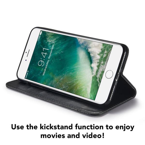 NALIA Klapphülle für iPhone 8 / 7, Slim Kickstand Handyhülle Flip-Case Kunst-Leder Cover mit Magnet Etui Ganzkörper Schutz Dünne Rundum Handy-Tasche Bumper für Apple i-Phone 7 / 8 – Bild 3