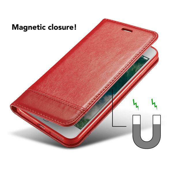 NALIA Klapphülle kompatibel mit iPhone 8 / 7, Slim Kickstand Handyhülle Flip-Case Kunst-Leder Cover mit Magnet Etui Ganzkörper Schutz Dünne Rundum Handy-Tasche Bumper – Bild 25