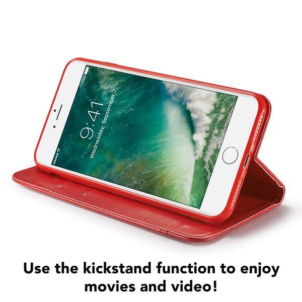 NALIA Klapphülle für iPhone 8 / 7, Slim Kickstand Handyhülle Flip-Case Kunst-Leder Cover mit Magnet Etui Ganzkörper Schutz Dünne Rundum Handy-Tasche Bumper für Apple i-Phone 7 / 8 – Bild 24